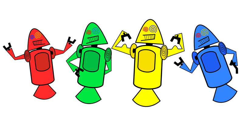 Illustration for article titled The Original Android Mascots Were Super Scary