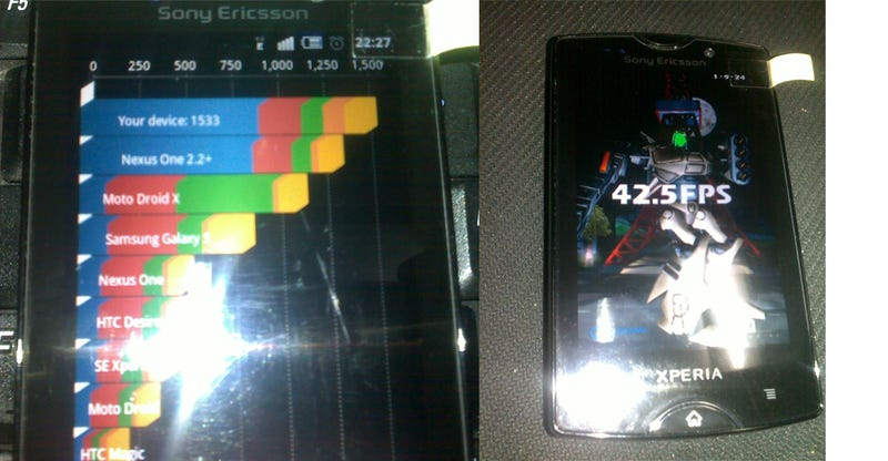 Illustration for article titled Tiny Sony Ericsson X10 Mini Pro Sequel Has 1GHz Processor and Android 2.3