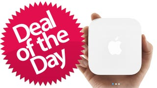 Illustration for article titled This Apple Airport Express Is Your Better-Than-Nothin' Deal of the Day