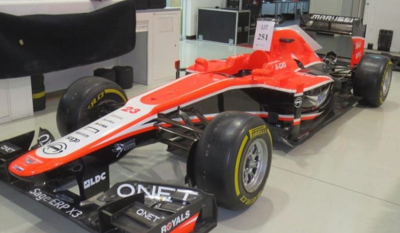 Illustration for article titled Gene Haas Is Bidding On Marussia's Assets For The Haas F1 Team