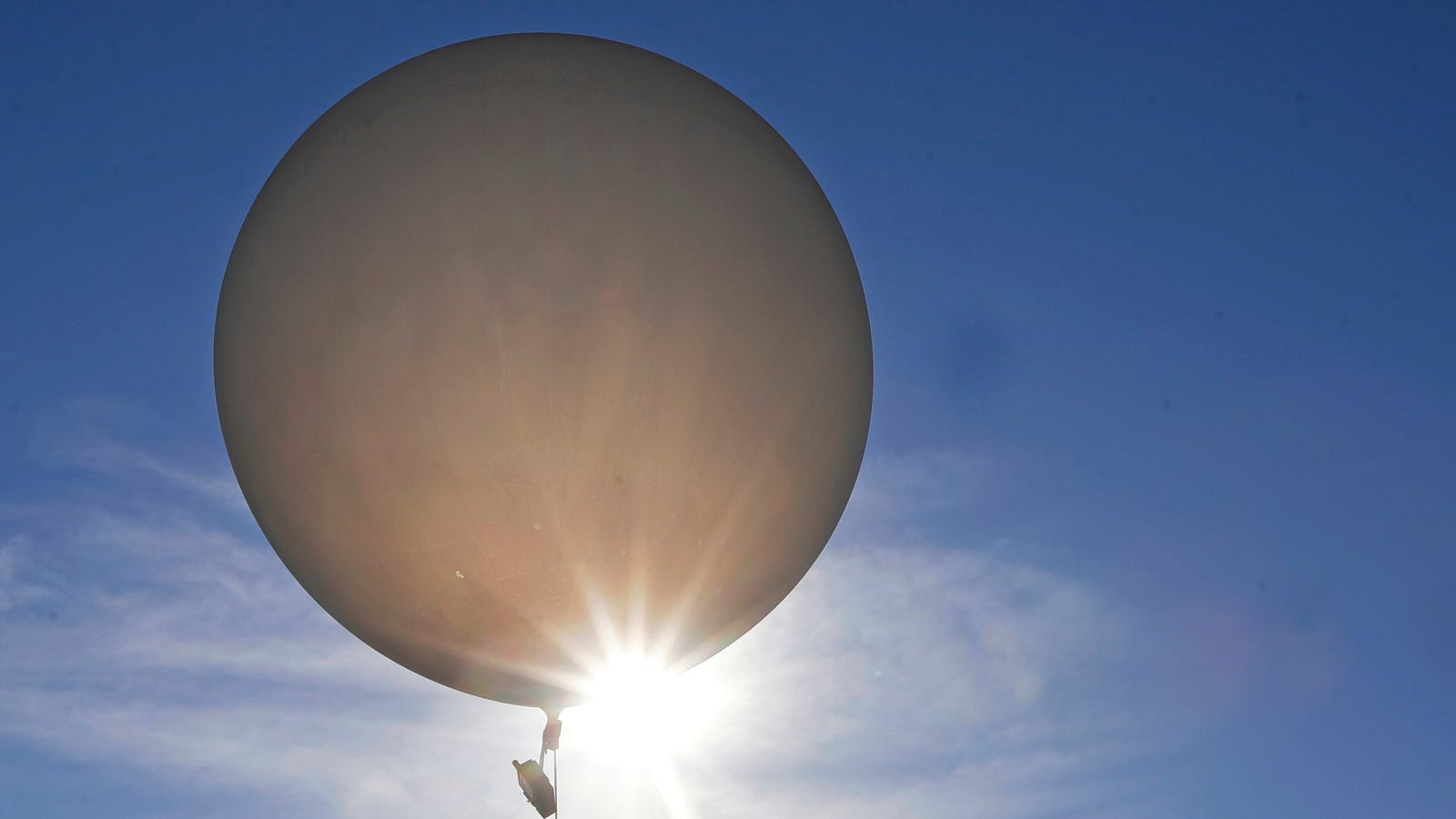 Bomb Squad Called After NASA Weather Device Labeled 'NOT A BOMB' Drops From Sky