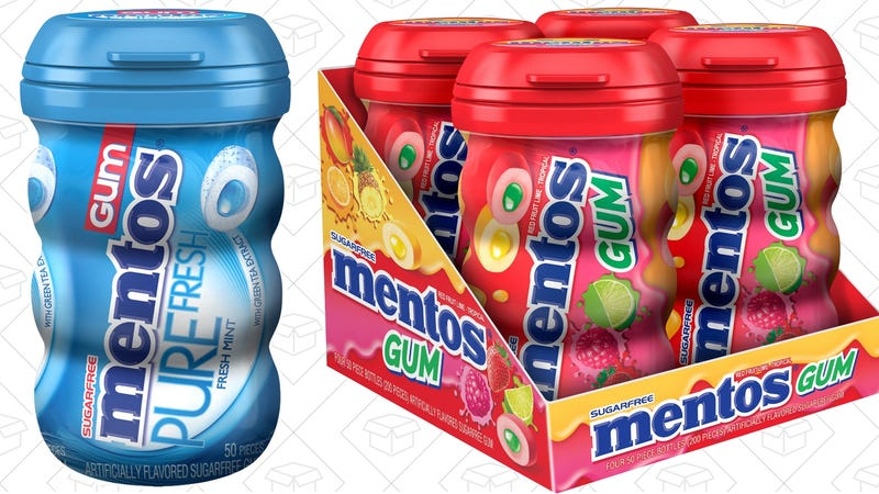 30% off Mentos Gum | Amazon