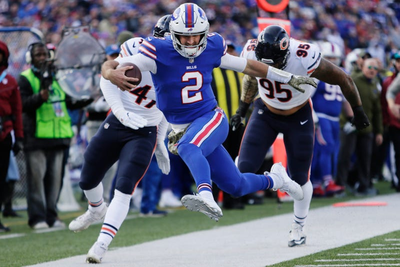 Illustration for article titled At Least Nathan Peterman Led The Bills In Rushing?