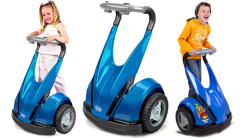 Illustration for article titled There's a Knock-Off Segway For Kids Who Hate Walking Too