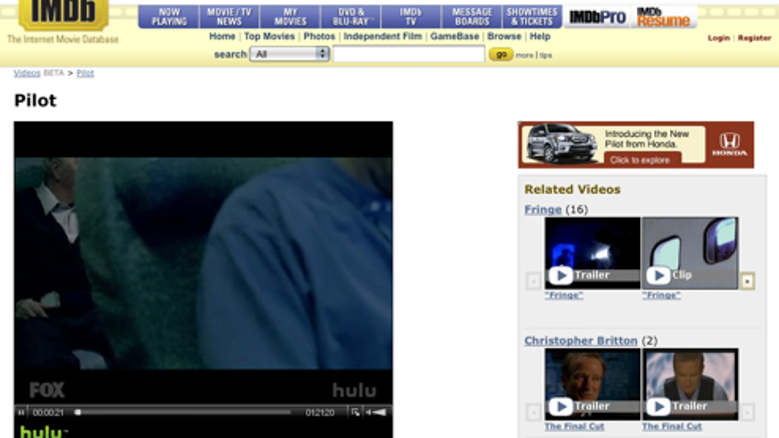 IMDb Incorporates Full-Length TV Shows