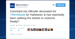 Illustration for article titled Nancy Grace Is Still The Best At Twitter