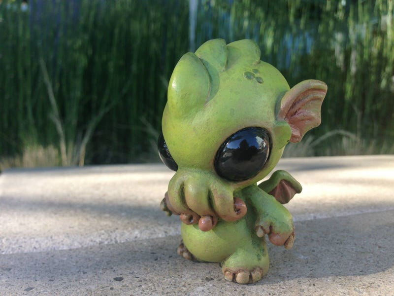Illustration for article titled Baby Cthulhu sculpture will drive the world to adorable madness