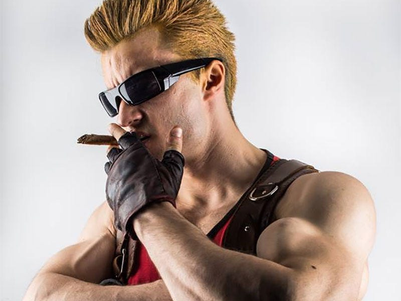 Illustration for article titled It's Time To Kick Ass And Cosplay As Duke Nukem
