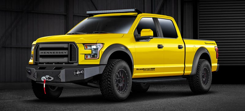 Illustration for article titled VelociRaptor 600 Is The Ultimate Ass-Hauling Off-Road 2015 Ford F-150