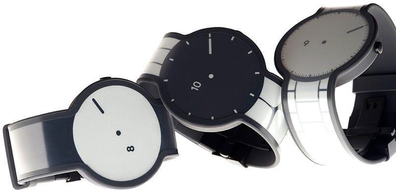 Illustration for article titled El smartwatch de tinta electrónica de Sony será muy parecido a este
