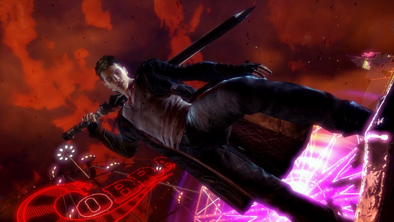 Illustration for article titled The New Devil May Cry Seems a Lot Like The Old Devil May Cry