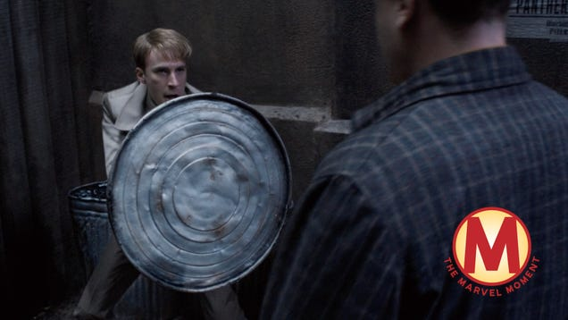With one line in Captain America: The First Avenger, Steve Rogers proves why he's a hero