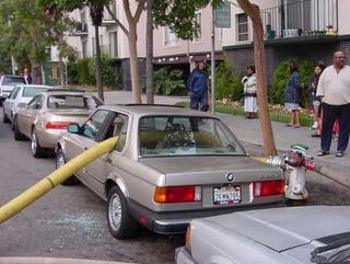 Illustration for article titled Seriously, What's The Worst That Could Happen Parking At A Fire Hydrant?