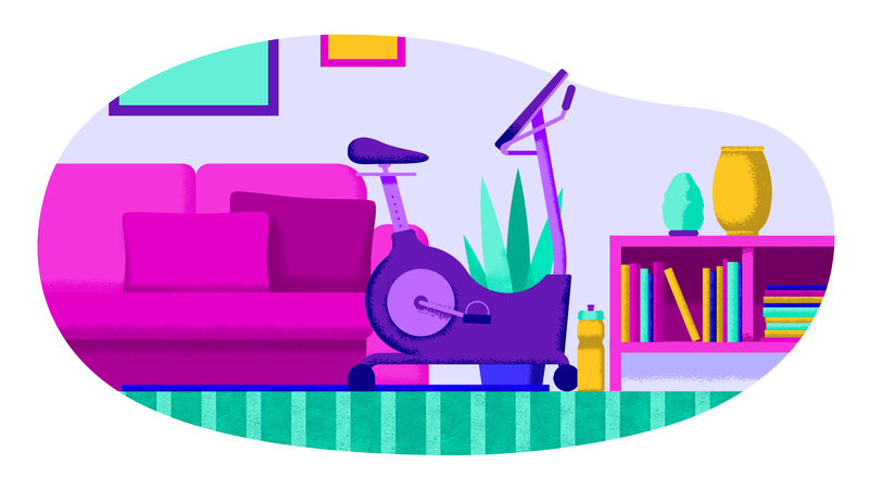 Illustration for article titled How To Work Out At Home Using Some Hardware And A Few Apps