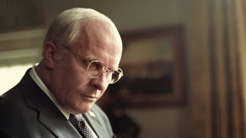 Illustration for article titled Christian Bale's Dick Cheney impression is the only virtue of the glib, superficial Vice