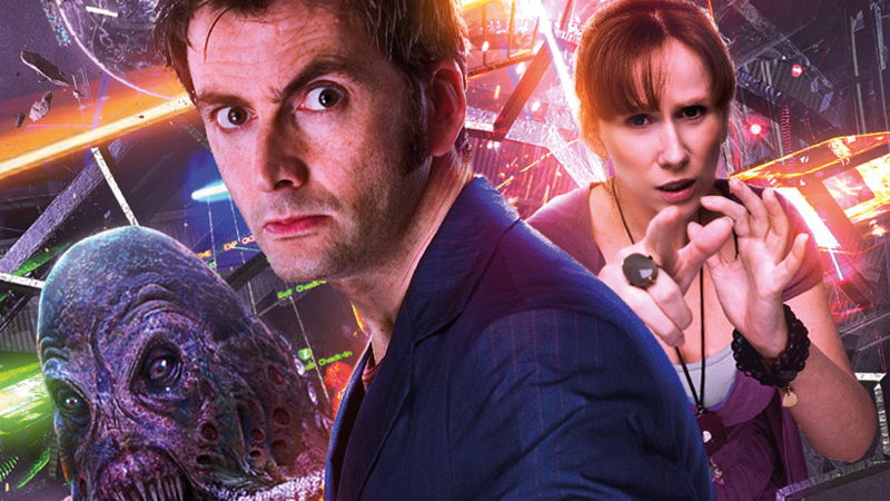 Illustration for article titled Hear David Tennant and Catherine Tate's Hilarious Return to Doctor Who