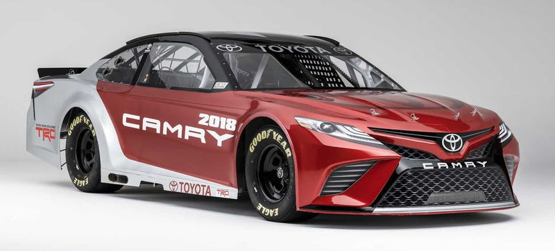 Photo Credit Toyota Racing This Is S New 2018 Camry