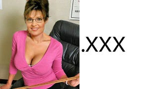 Illustration for article titled Sarah Palin and Obama Won't Get Porn .XXX Sites
