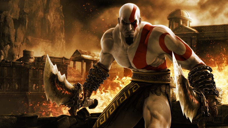 Illustration for article titled That Time Sony Threw A God of War Party With A Dead Goat