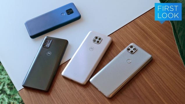 Motorola Just Revamped Its Budget Phone Lineup, and There s Something for Everyone