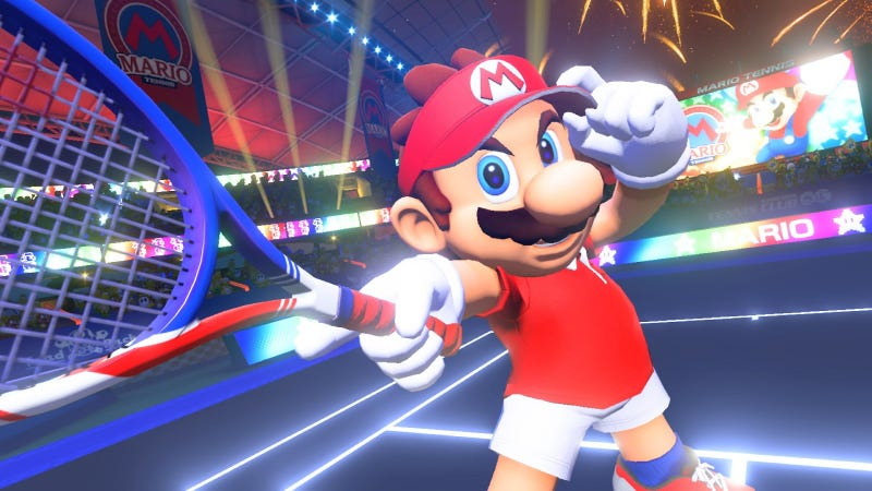 Illustration for article titled The New Mario Tennis Is Definitely A Fighting Game