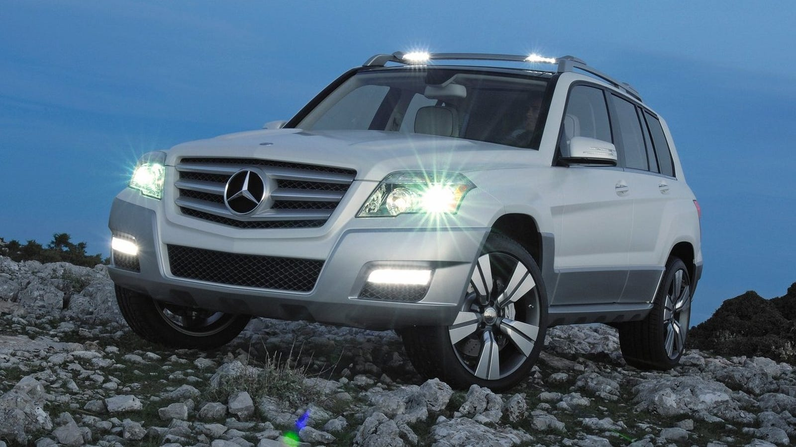 a 2010 mercedes glk with off