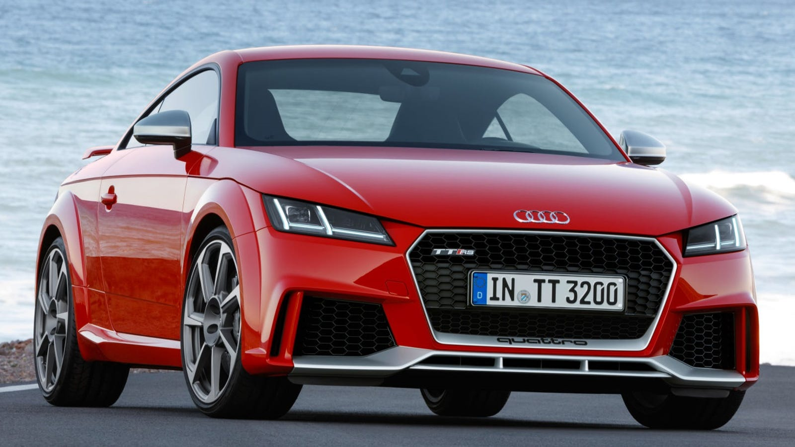 the crazy five cylinder 2017 audi tt rs will start at 65 785. Black Bedroom Furniture Sets. Home Design Ideas