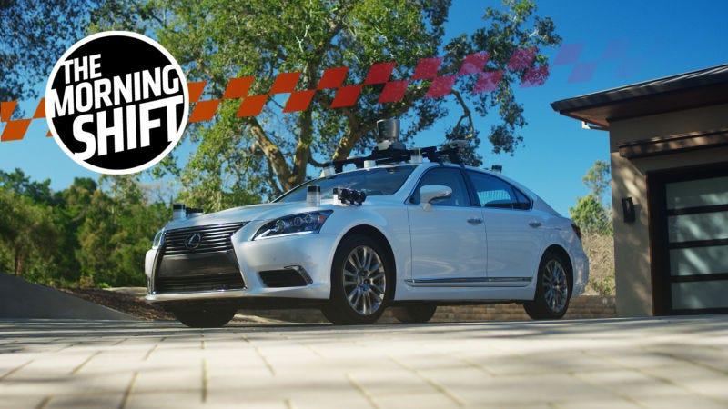 One of Toyota's autonomous research vehicles