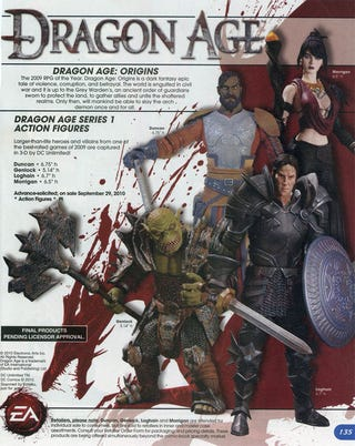 Illustration for article titled Dragon Age Action Figures Will Probably Look Like This