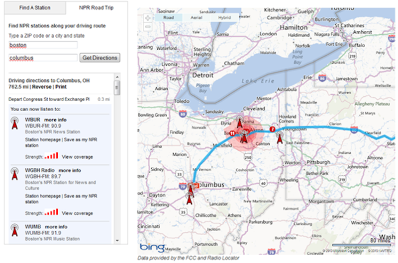 The Best Apps And Tools For Rocking Your Next Road Trip - Video of car driving across us map