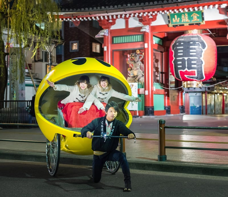 Illustration for article titled A Pac-Man Rickshaw Is Coming To Tokyo