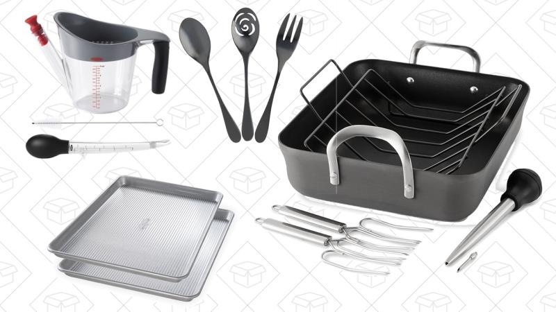 A ade estos utensilios de cocina al listado de cosas por for Utensilios para servir comida
