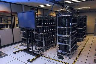 Illustration for article titled PlayStation 3 Cluster, Or Skynet?