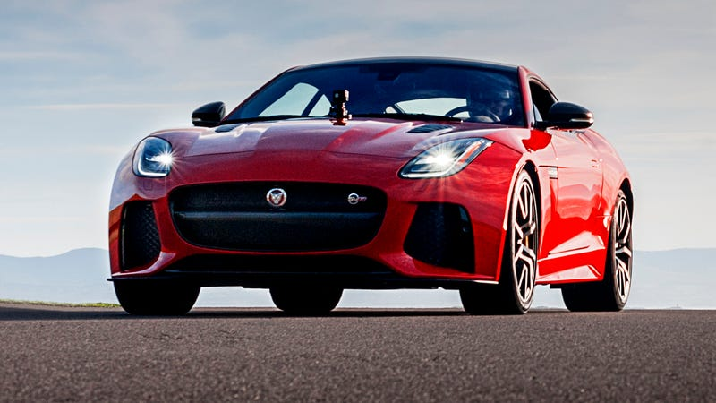 What Do You Want To Know About The Jaguar F-Type SVR?