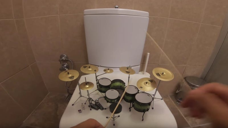 "Tiny little drums play tiny little cover of System Of A Down's ""Toxicity"""