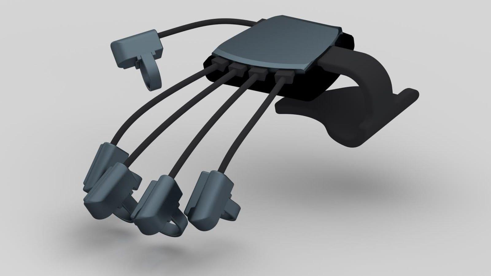 Los guantes para mover objetos virtuales llegan a Oculus Rift