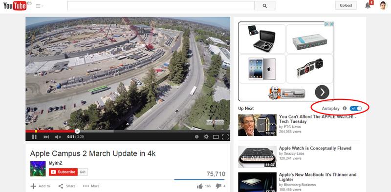 Illustration for article titled Desactiva en YouTube la molesta función de auto-reproducción de vídeos