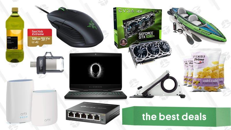 Illustration for article titled Monday's Best Deals: Laptop Gold Box, Smart Locks, Under-the-Desk Elliptical, and More