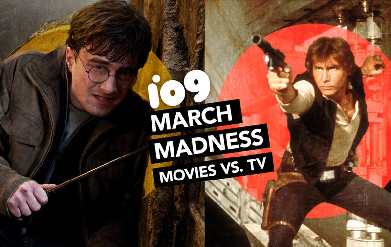 Illustration for article titled io9 March Madness Round 2: Harry Potter Vs. Star Wars! Hobbit Vs. Alien!