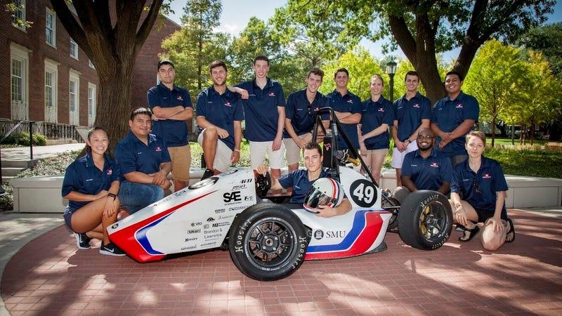 The Souther Methodist University Formula SAE team, Hilltop Motorsports. All images via Hilltop Motorsports