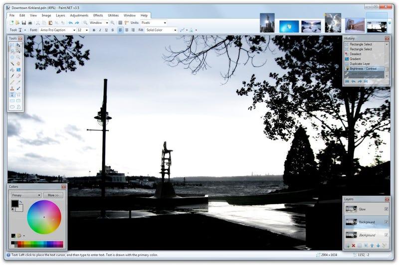 Illustration for article titled Paint.NET Releases Big Update, Still a Killer Photoshop Alternative
