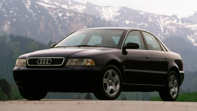 Illustration for article titled 1995 Audi A4: Yuppies Need Not Apply