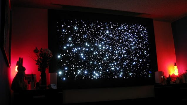 Build A Fiber Optic Star Map For Out-of-This-World Ambient