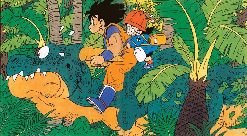 Illustration for article titled The Colorful Art of Dragon Ball