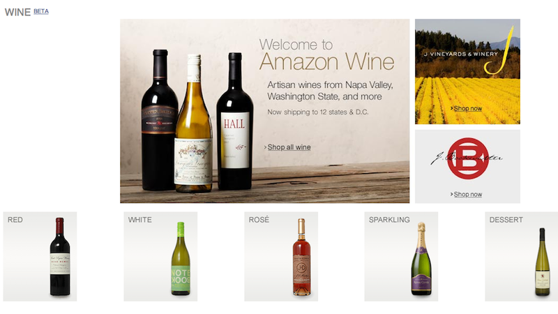 Illustration for article titled You Can Now Buy Wine from Amazon