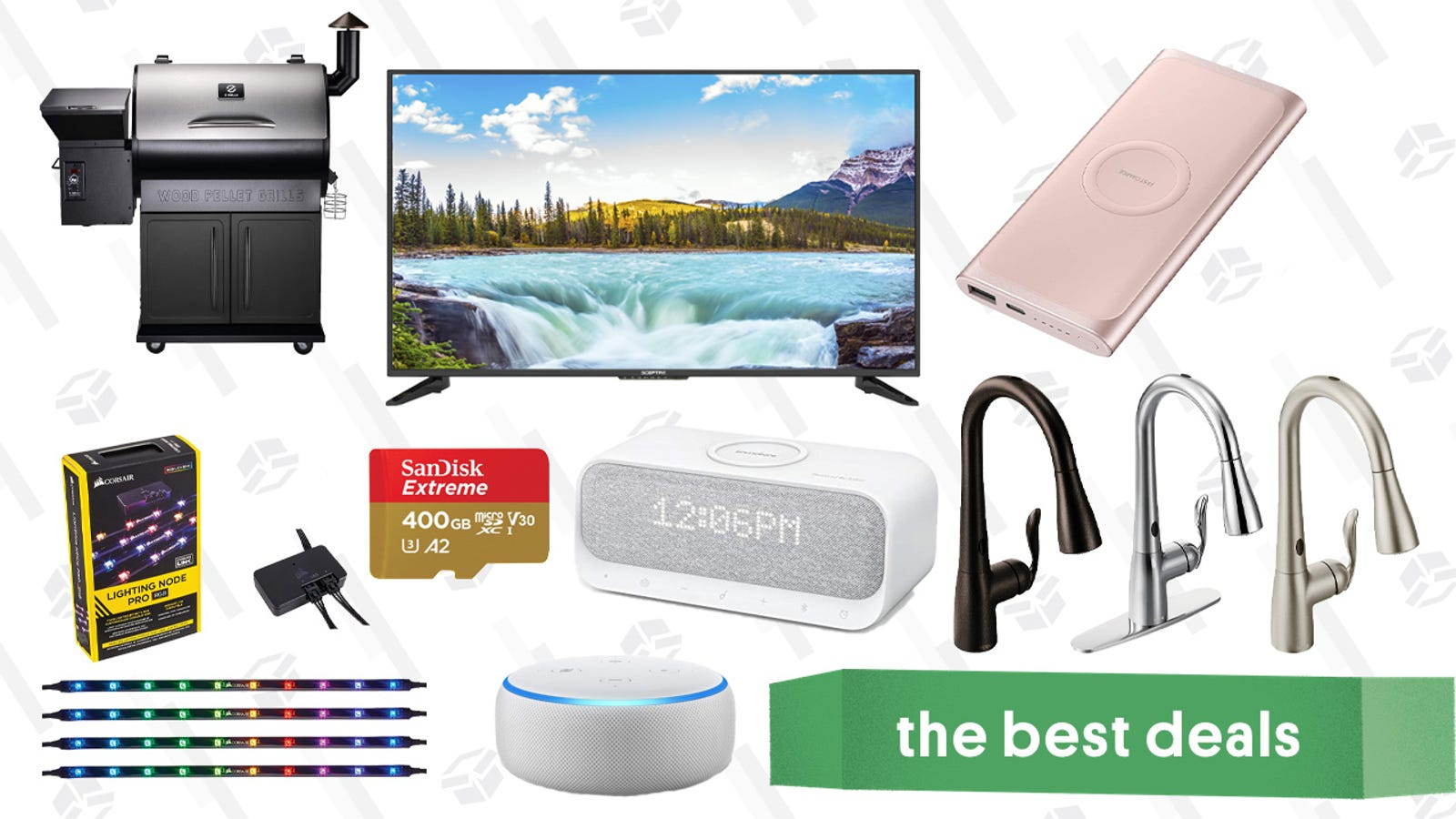 QnA VBage Wednesday's Best Deals: Discounted Audible Membership, Pellet Grill, Moen Kitchen Faucets, and More