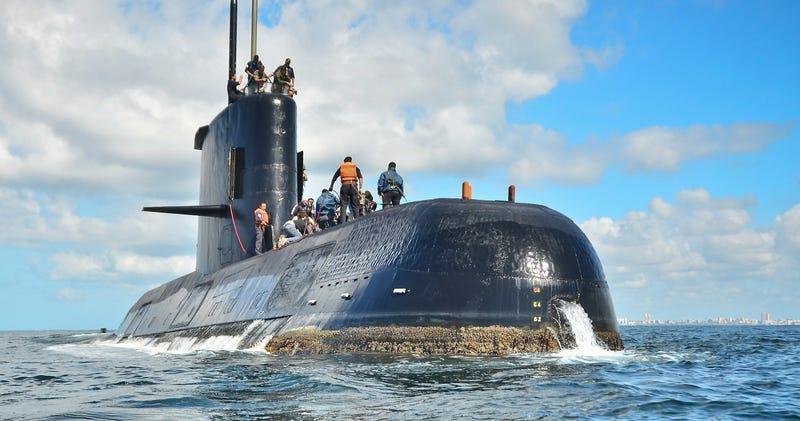 Submarino San Juan. AP