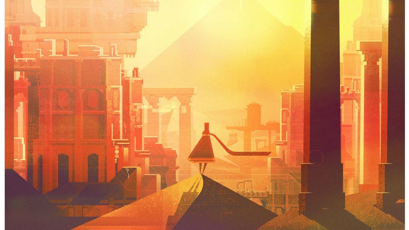 A crop of James Gilleard's Journey art piece for Gallery 1988.