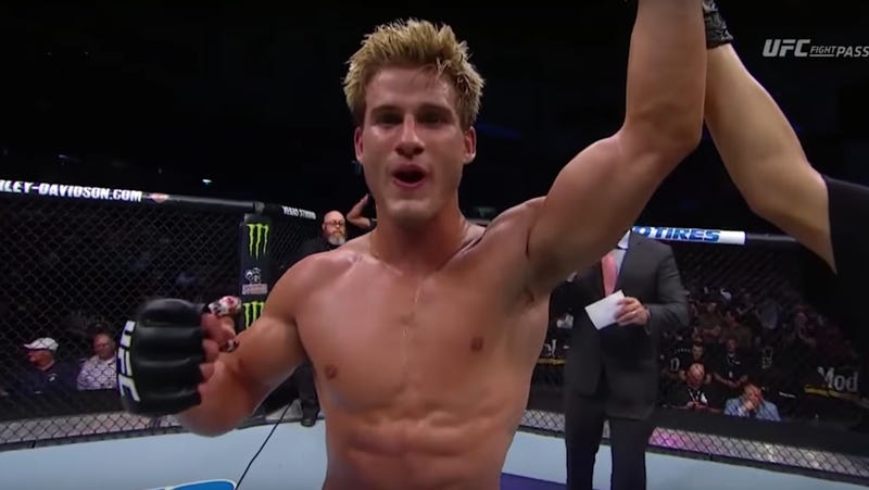 Illustration for article titled MMA Good Boy Sage Northcutt Wins By Knockout, Rambles About The Power Of Words