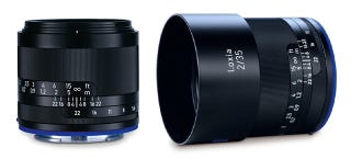Illustration for article titled Sony A7 Series Gets Two Gorgeous New Prime Lenses From Zeiss